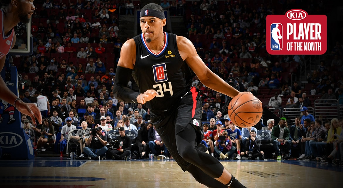 Tobias Harris Named Kia Western Conference Player Of The Month