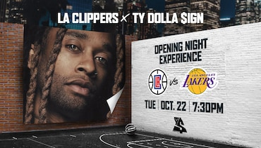 R&B Singer Ty Dolla $ign Partners with The Clippers for Opening Night Experience