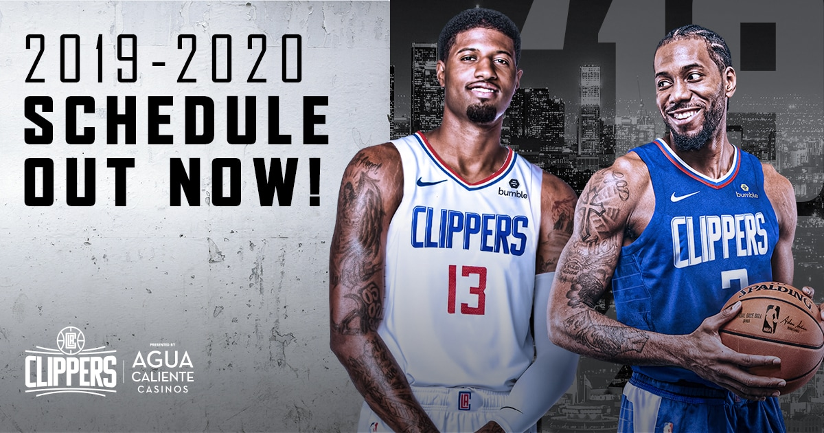 Best Hair Clippers 2020.L A Clippers Release 2019 20 Schedule
