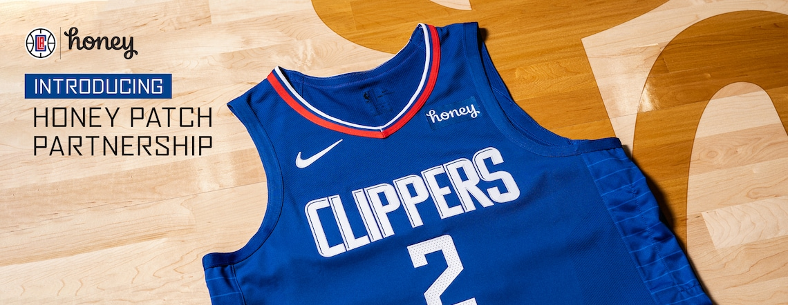 Honey and LA Clippers Expand Partnership, Introduce Honey Logo Patch on Clippers Jerseys