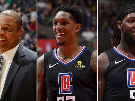 Clippers Head Coach Doc Rivers, Guard Lou Williams, and Forward Montrezl Harrell Named as Finalists for 2018-19 NBA Awards