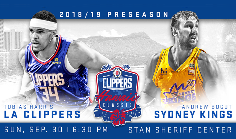 Tickets for Clippers Hawaii Classic On Sale Now