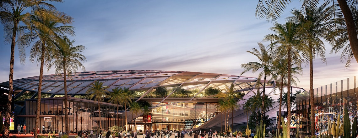 L.A. Clippers' Inglewood Basketball and Entertainment Center Receives Final Approval from City of Inglewood