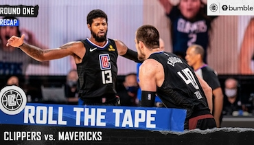 All-Access from the Clippers' First Round Series Win | Roll the Tape