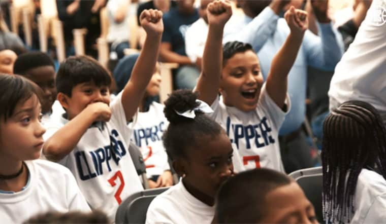LA Clippers in the Community
