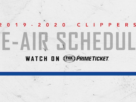 Clippers Announce Updated Broadcast Schedule on Fox Sports Prime Ticket