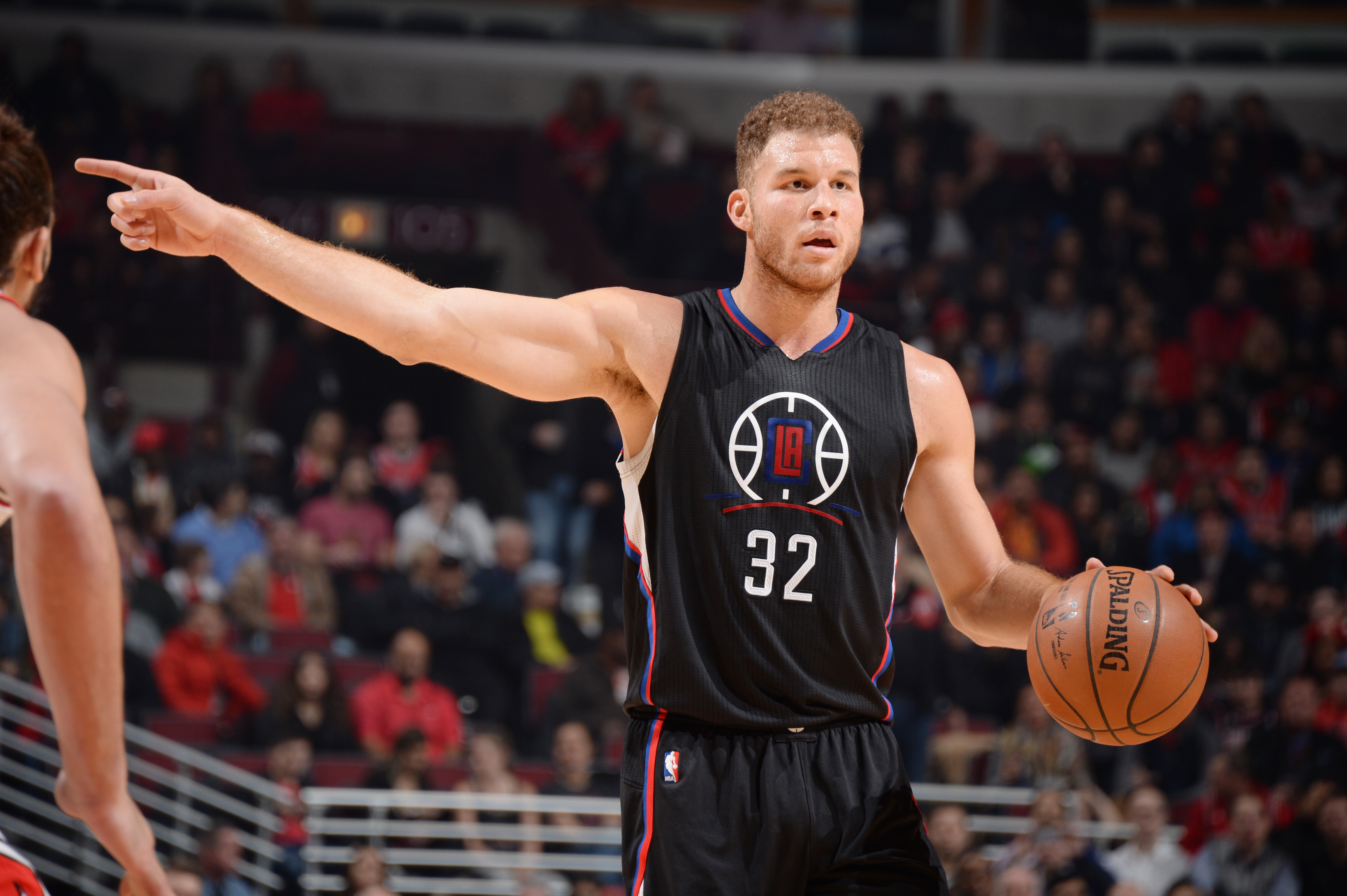 Clippers Vs Bulls Photo: No Hard Feelings After Griffin Ejection