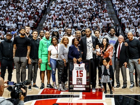 Gallery | Kawhi Leonard's San Diego State Jersey Retirement (02.01.20)