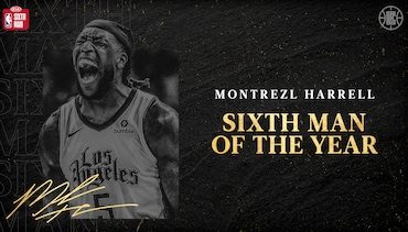 Montrezl Harrell Wins The 2019-20 NBA Kia Sixth Man of The Year Award