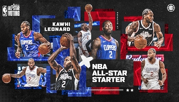 Kawhi Leonard Selected As Western Conference All-Star Starter