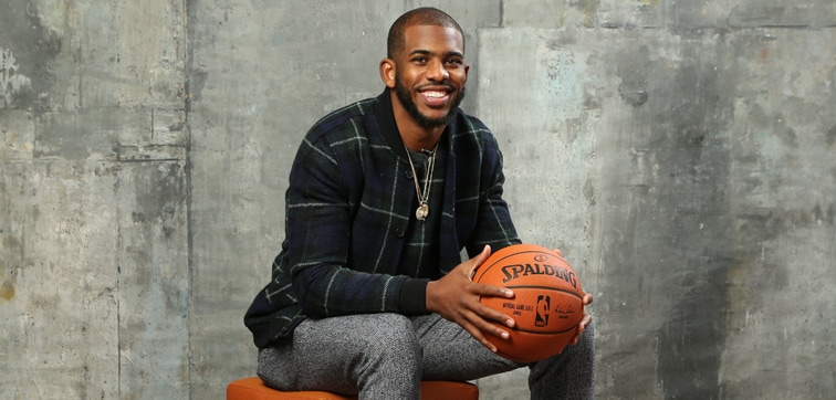 Image of Chris Paul from 2015 All-Star weekend Photoshoot
