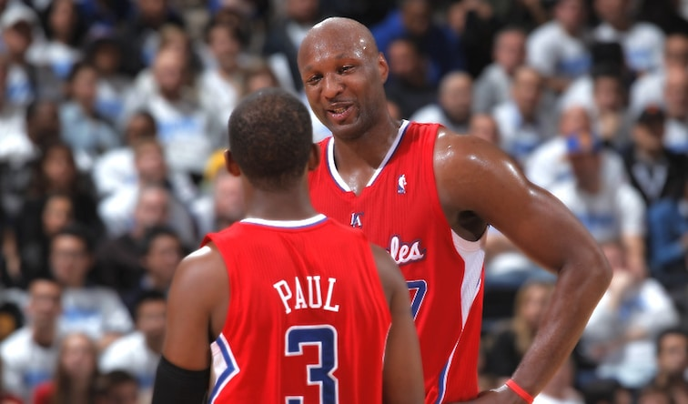 buy popular d5967 38486 Chris Paul Offers Support To Lamar Odom | Los Angeles Clippers