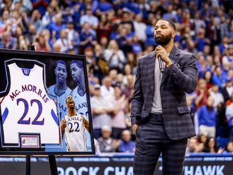 Gallery | Marcus Morris's University of Kansas Jersey Retirement (02.17.20)