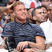 Image of Blake Griffin, Jamal Crawford, and Matt Barnes on the bench - Article: Clippers Return Home To See Trail Blazers