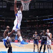 Photo from the Clippers vs. Pacers game on 12/17/14