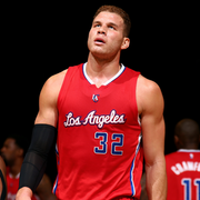 Image of Blake Griffin during timeout - Article: Blake Griffin Getting Surgery For Elbow Infection