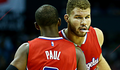 Image of Blake Griffin and Chris Paul embrace after win vs. Hornets - Article: Griffin, Jordan, Paul Get Double-Doubles In 113-92 Win In Charlotte
