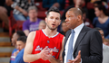 Image of Doc Rivers and J.J. Redick conversing on the sidelines - Article: Redick Status Up In Air As Clippers Go To New Orleans