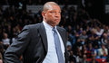 Image of Doc Rivers on the sidelines during game - Article: Deadline Active, But No Trades For Clippers