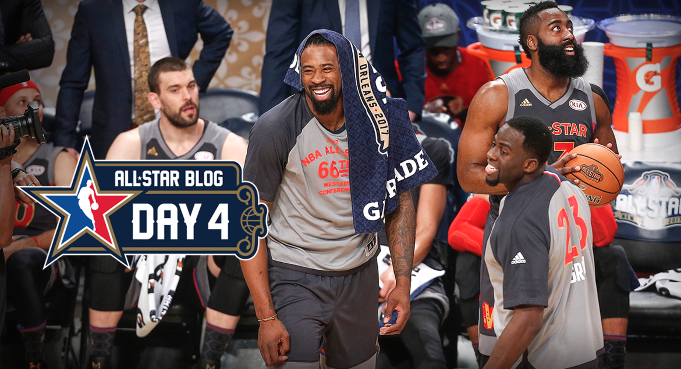 Running 2016-17 NBA All-Star Blog Day 4