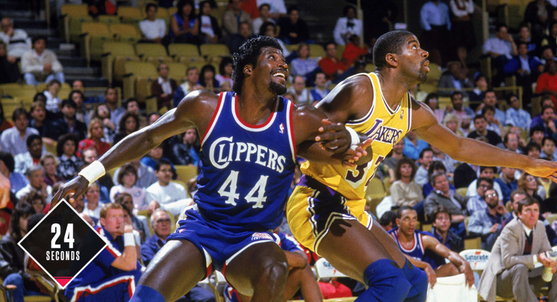 24 Seconds With…Former Clipper Michael Cage