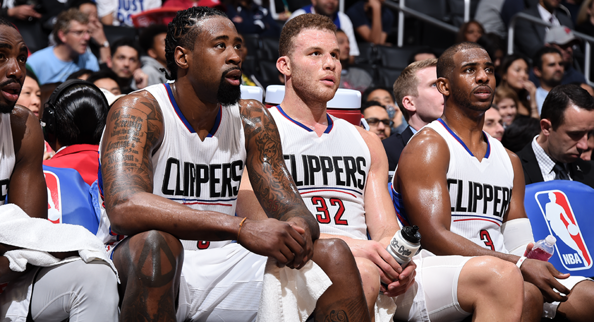 """Chris Paul: Clippers must """"figure it out"""" with DeAndre Jordan and Blake Griffin set to miss Denver trip"""