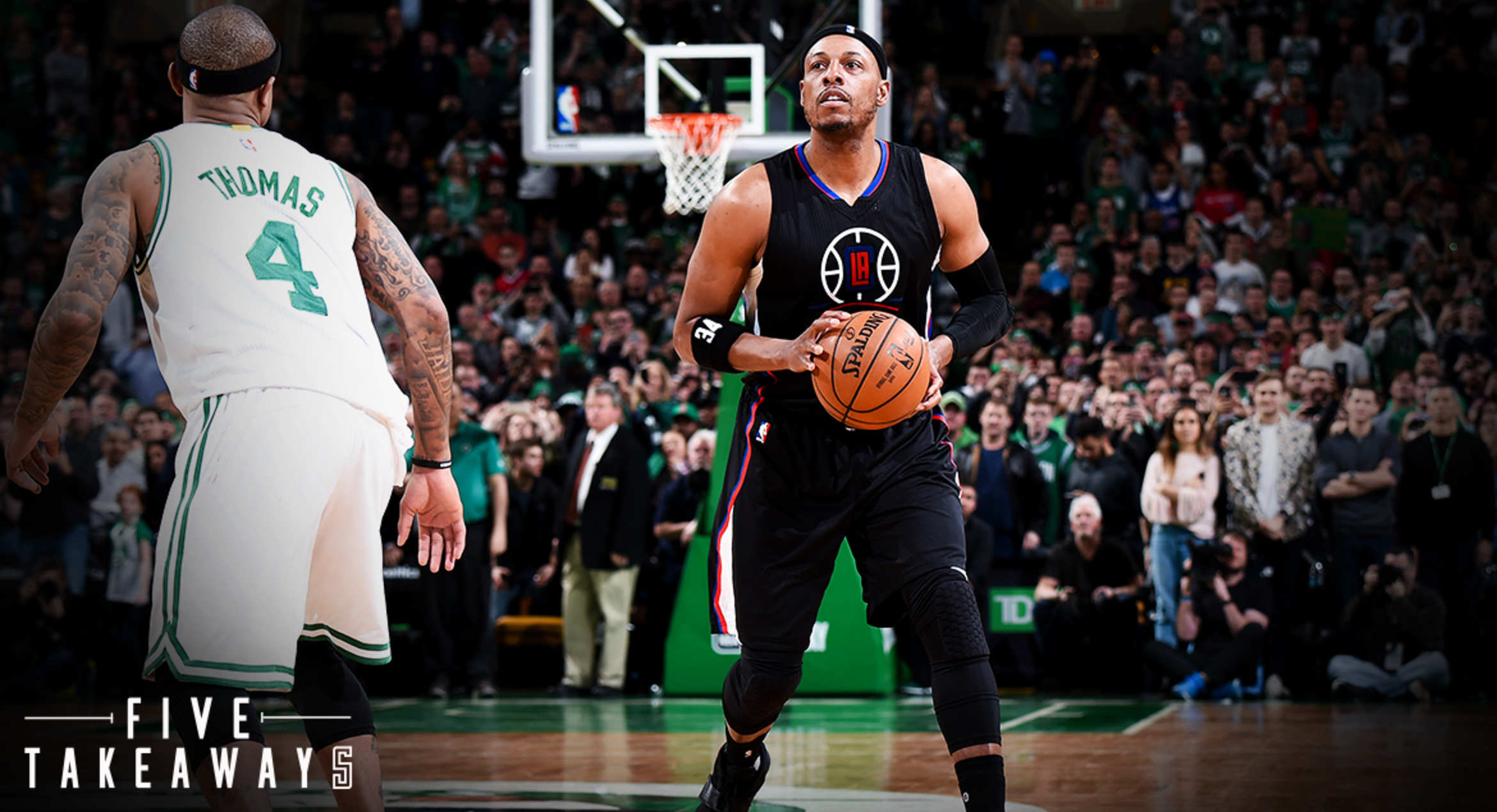 Five Takeaways: Celtics Live Behind The Arc In Clippers Loss