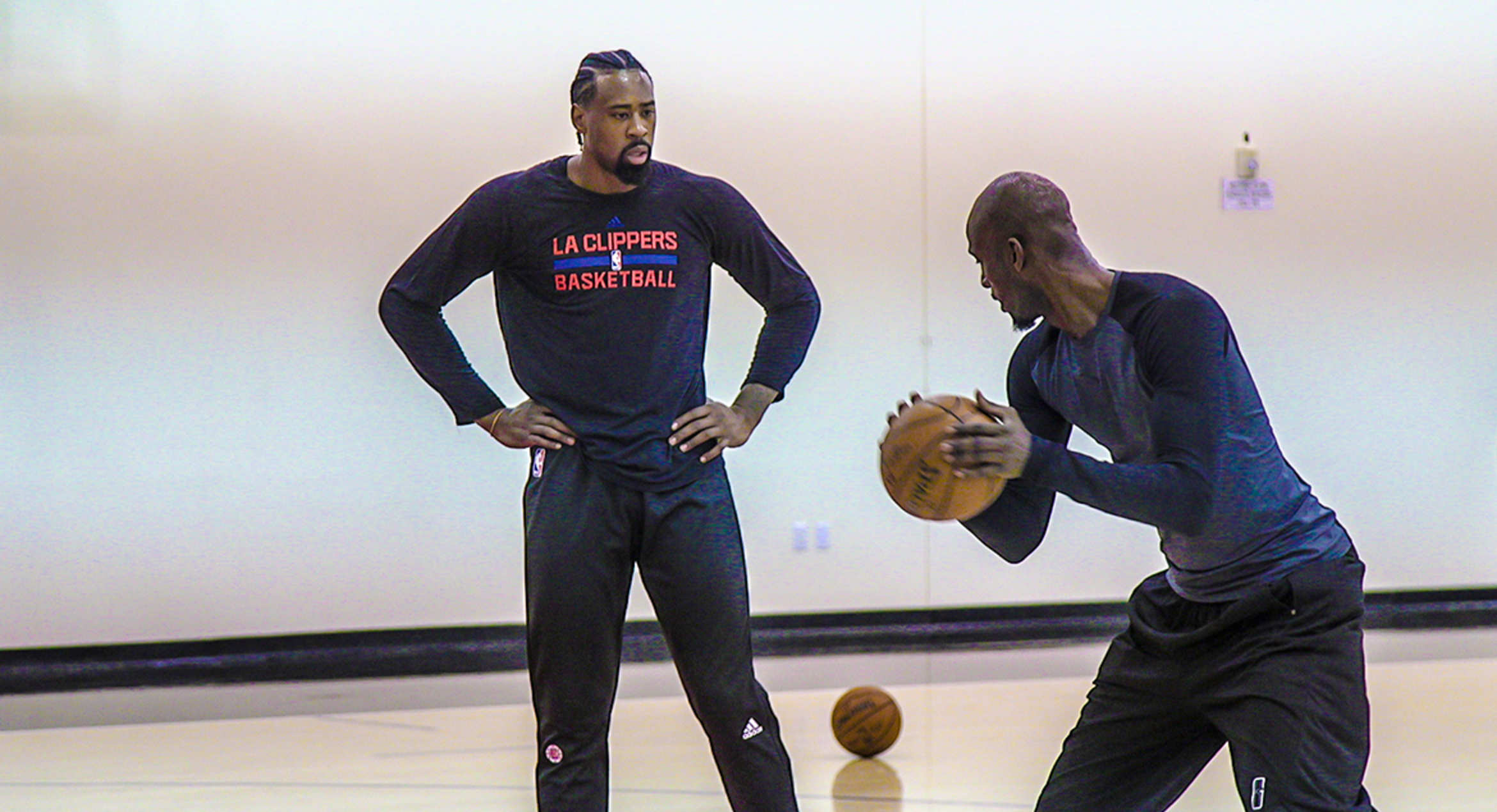 Kevin Garnett Back At Clippers Practice As Consultant