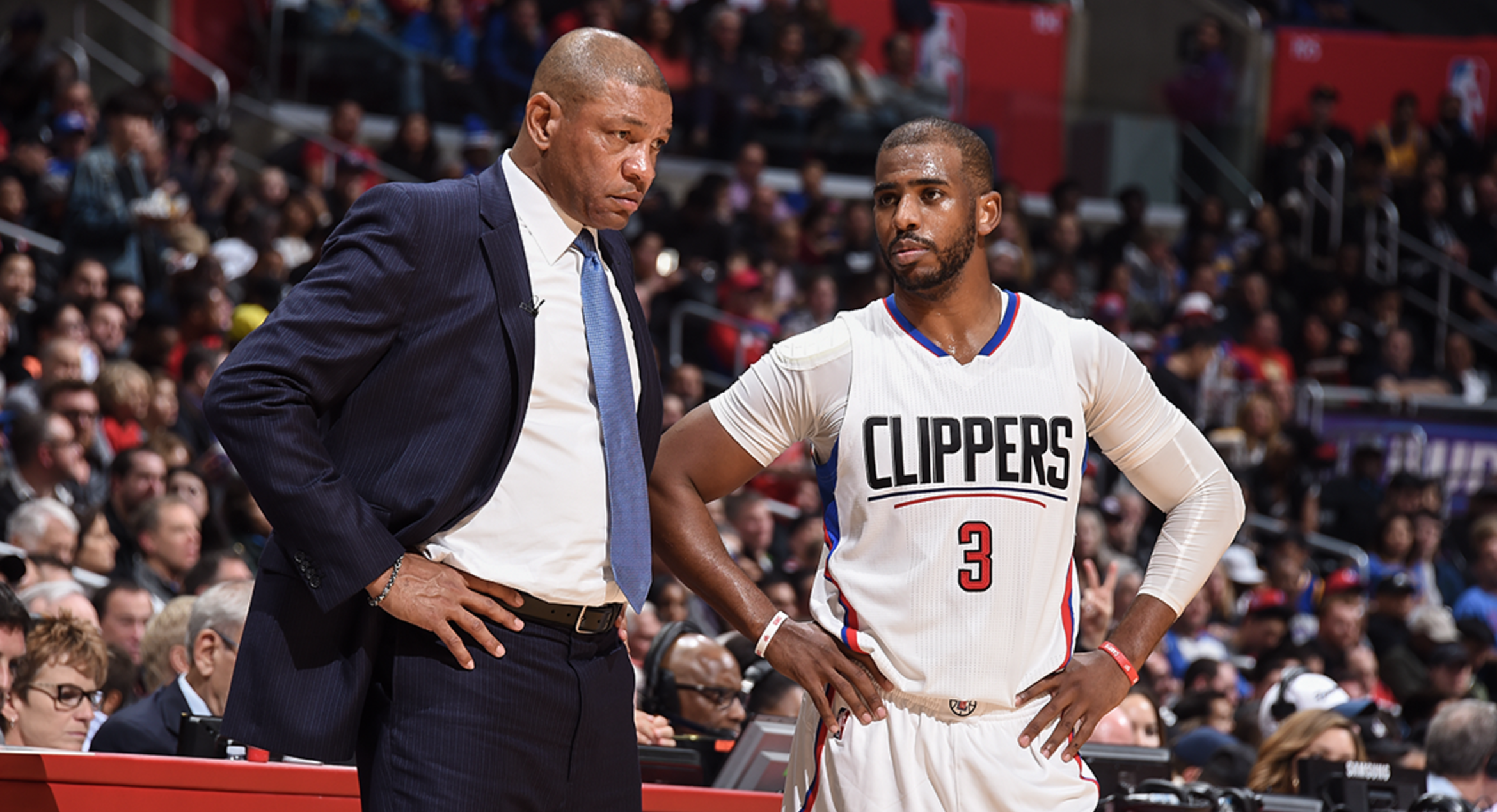 Notebook: Doc Rivers On Flu Bug, Griffin Update, KG's Role