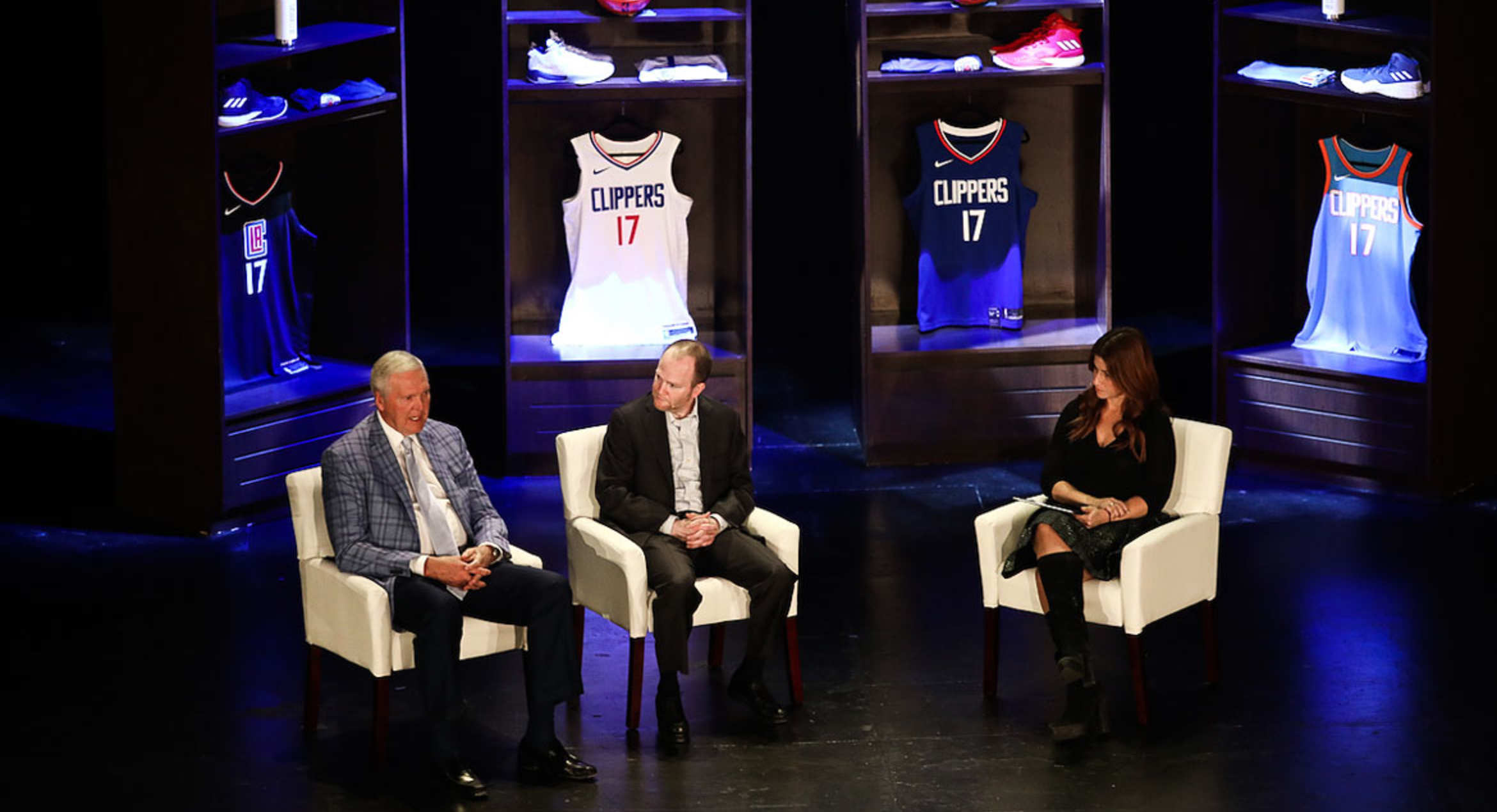 Clippers host inaugural 'Playbook' event with Frank, West