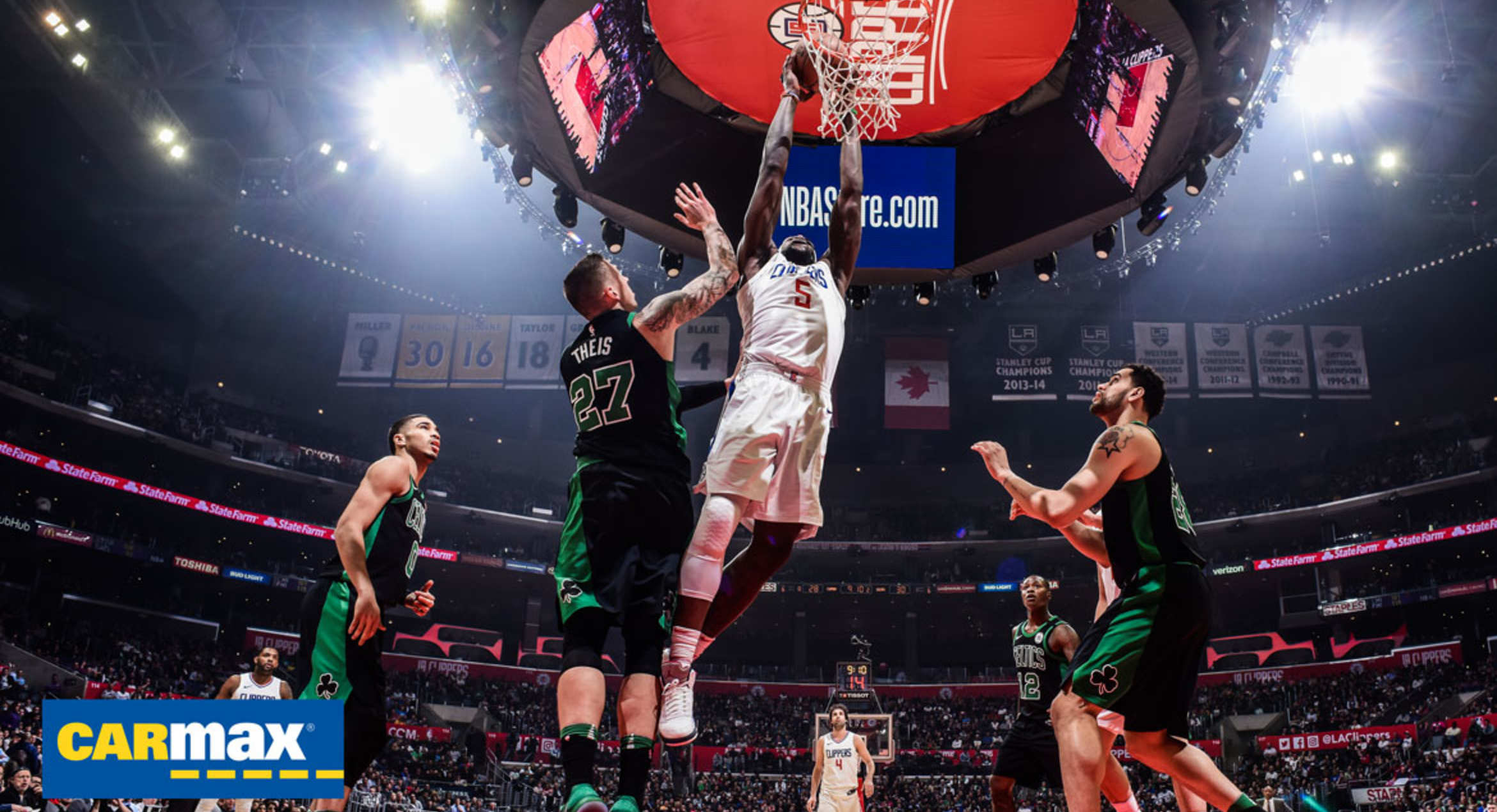 Gameday Report: Clippers vs. Celtics