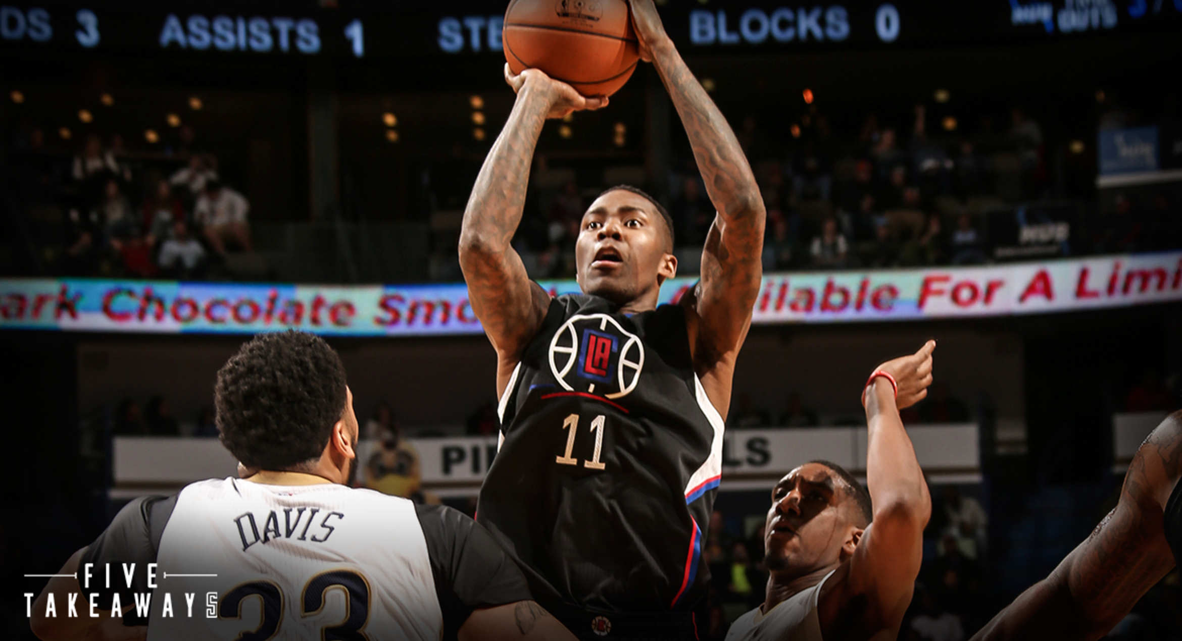 Five Takeaways: Clippers Beat Pelicans, 114-96, To End Trip On High Note