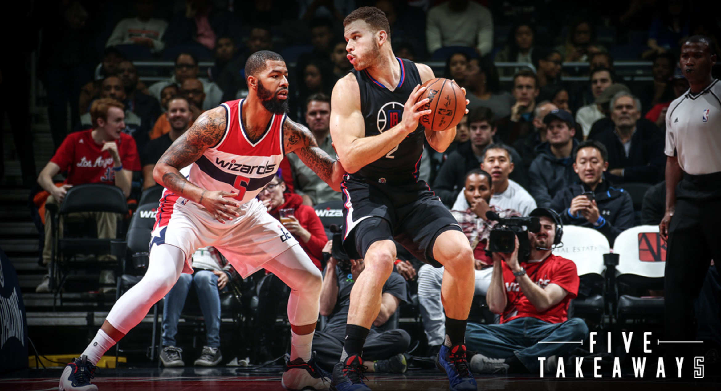 Five Takeaways: Clippers' Four-Game Win Streak Snapped In Loss To Wizards