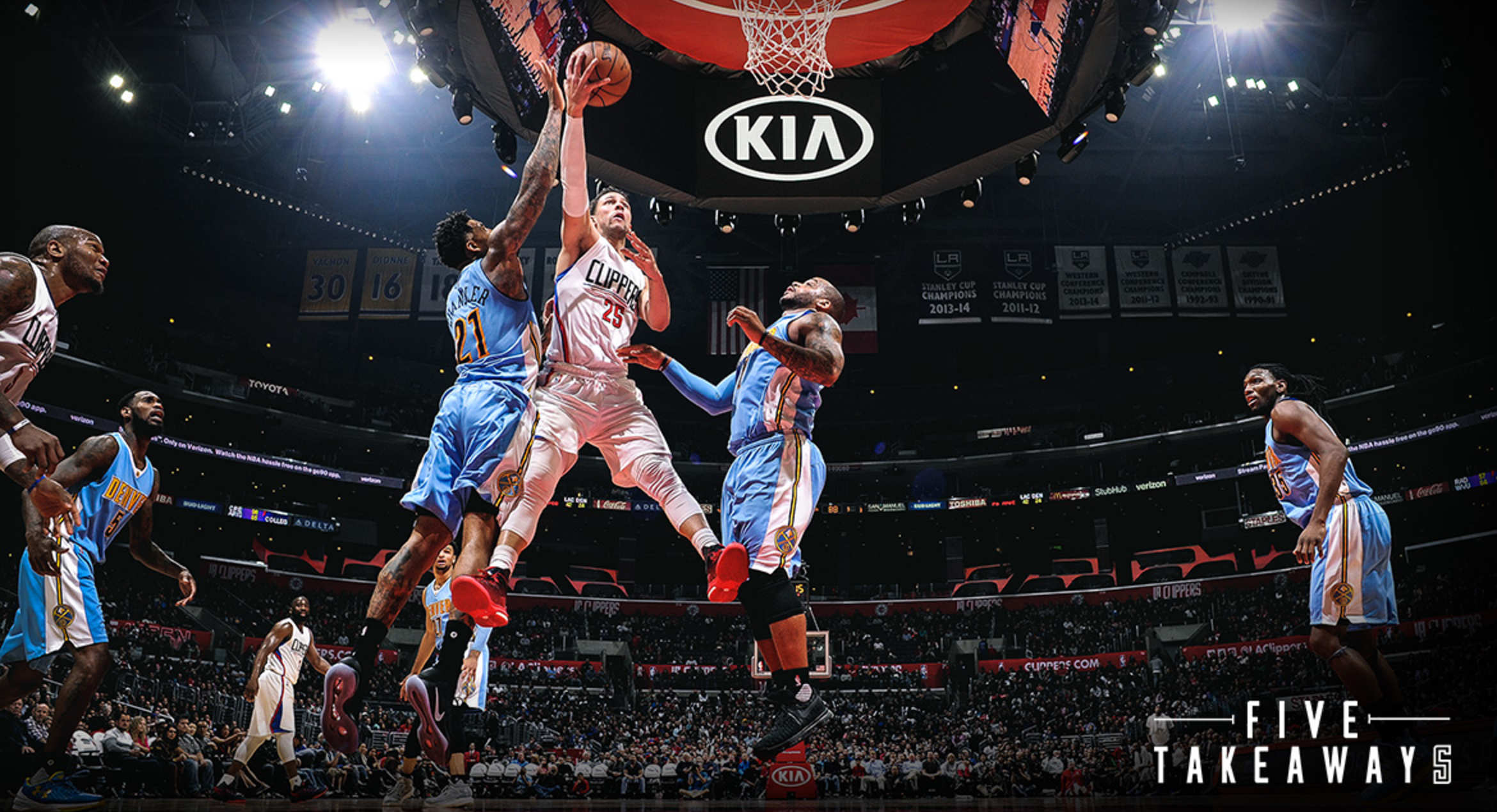 Five Takeaways: Clippers' Starters Can't Be Stopped In Win Vs. Nuggets