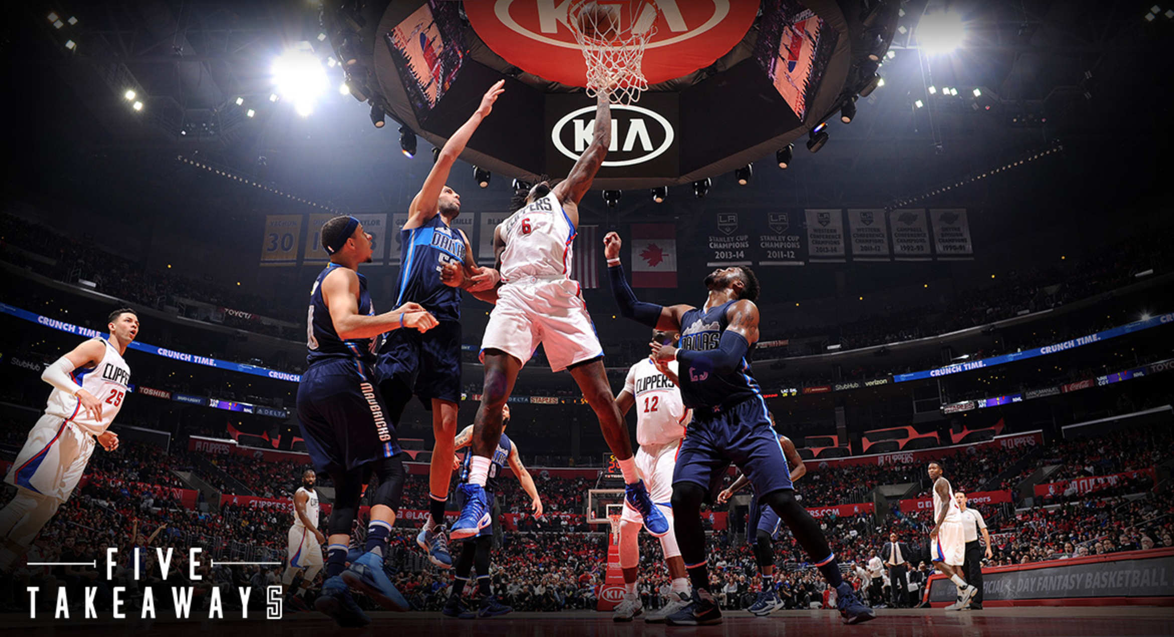 Five Takeaways: Shorthanded Clippers Fall To Mavericks, 90-88
