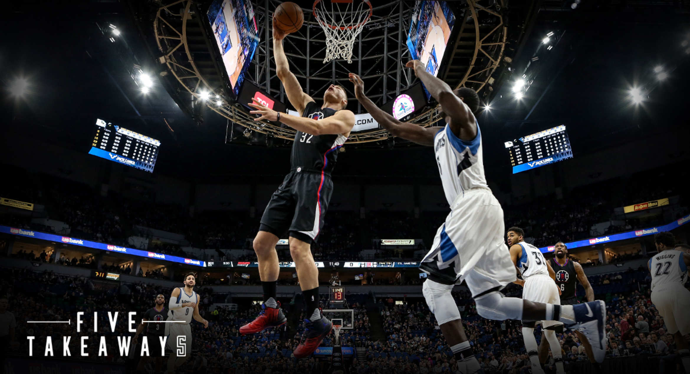 Five Takeaways: Clippers Struggle, Lose In Minnesota