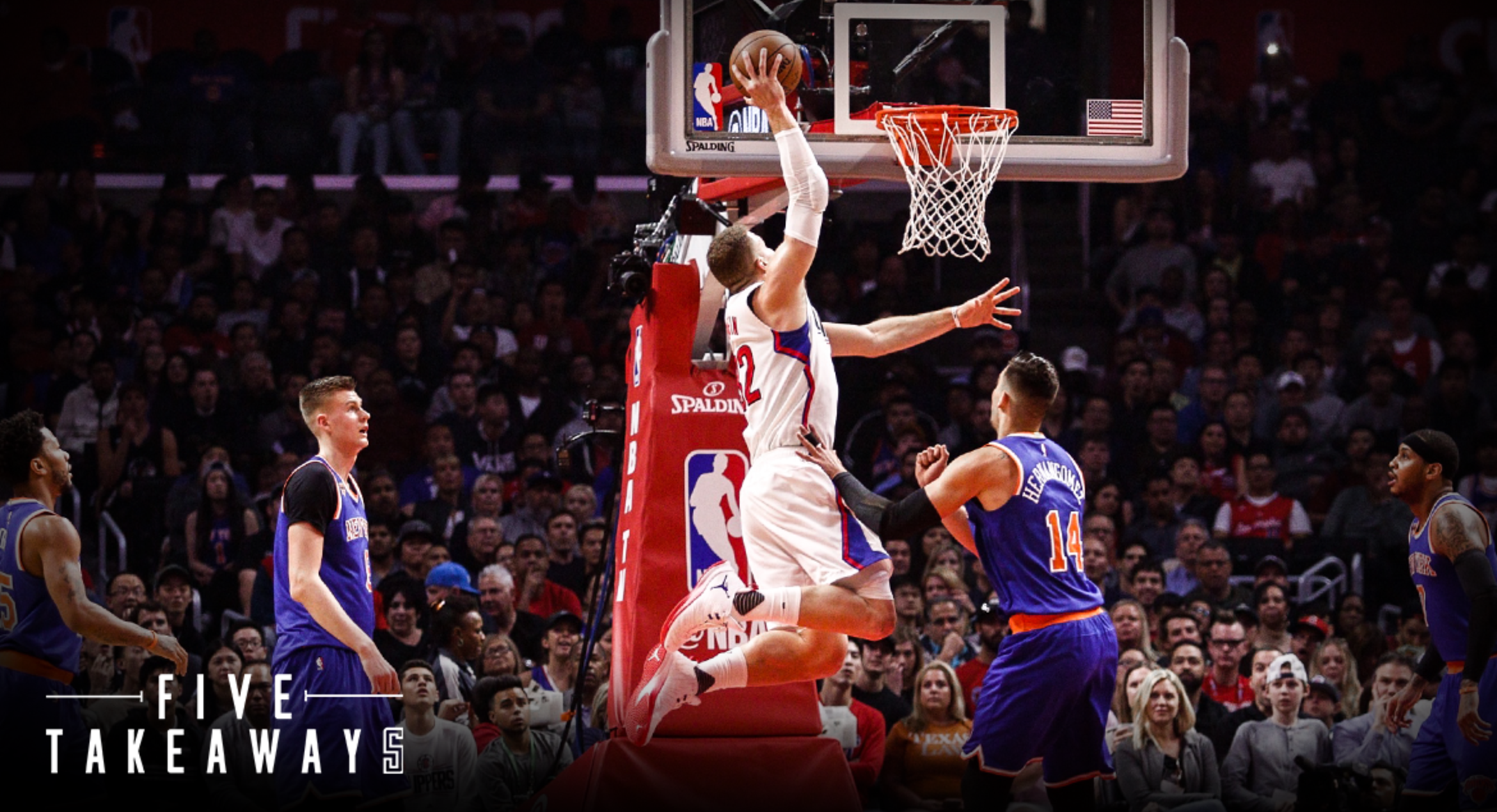 Five Takeaways: From the Clippers' Commanding Win Over the New York Knicks