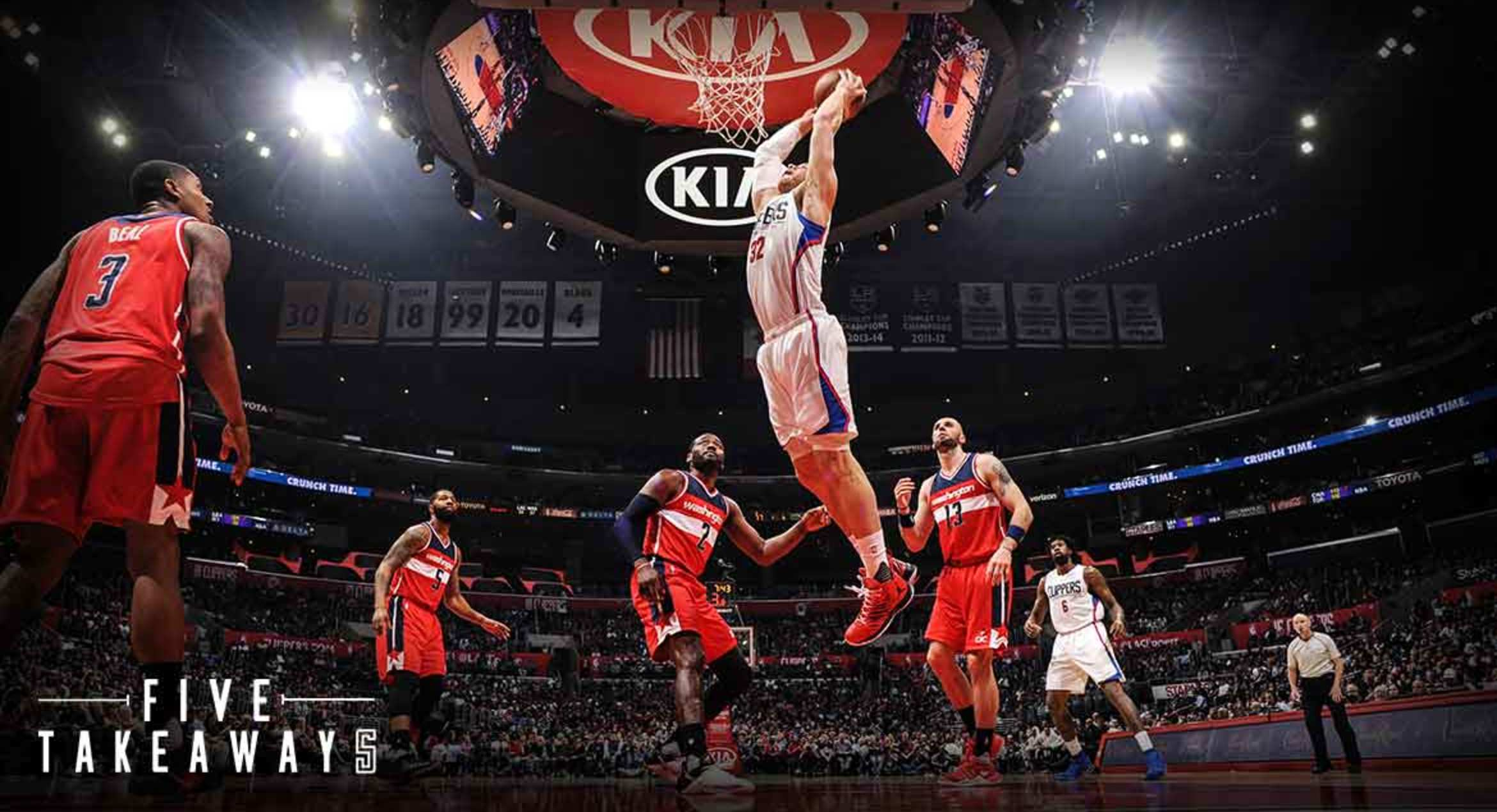 Five Takeaways: Clippers vs Wizards