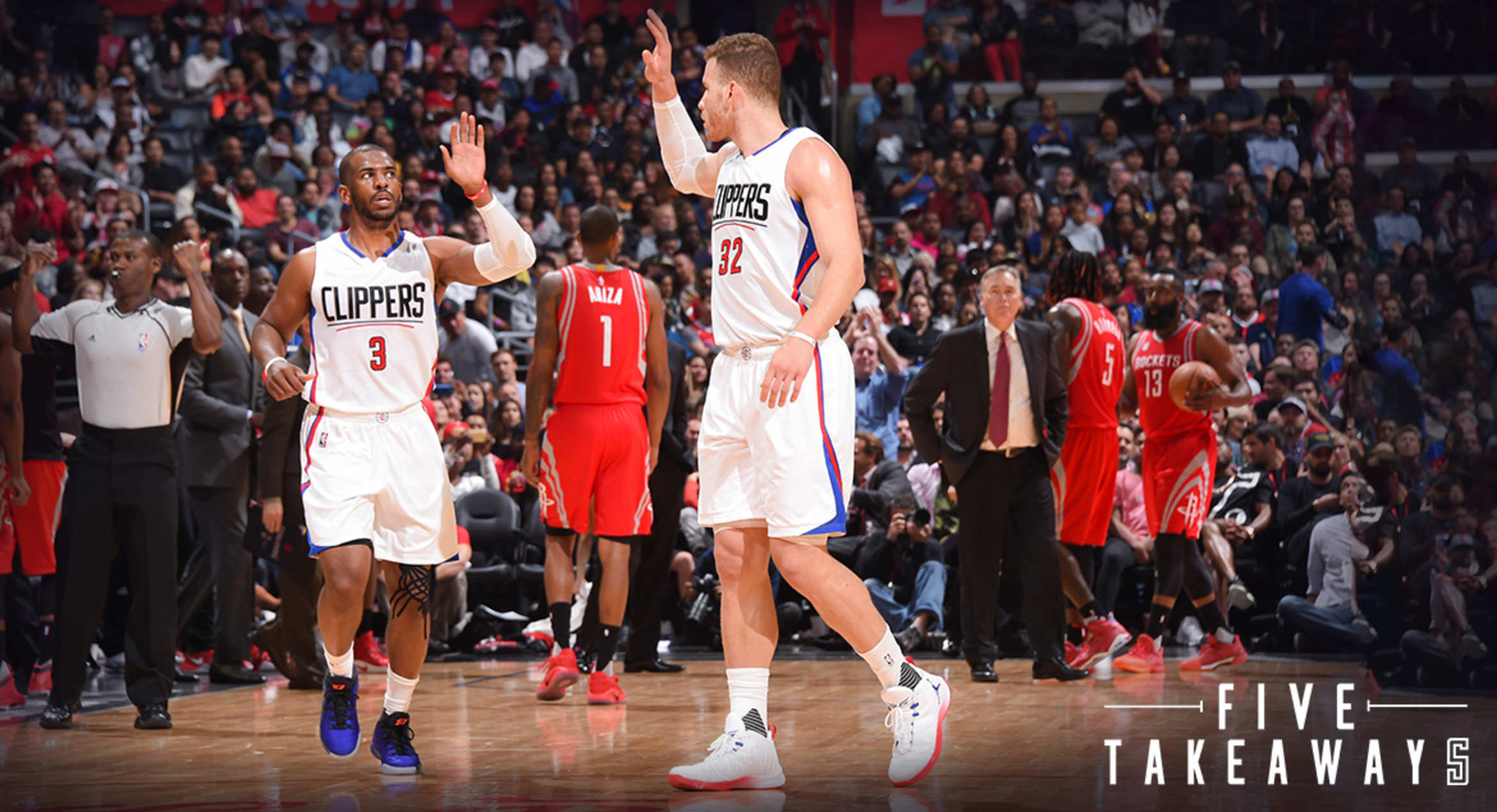 Five Takeaways: Clippers Hammer Rockets, But Remain Tied With Jazz For Fourth Seed