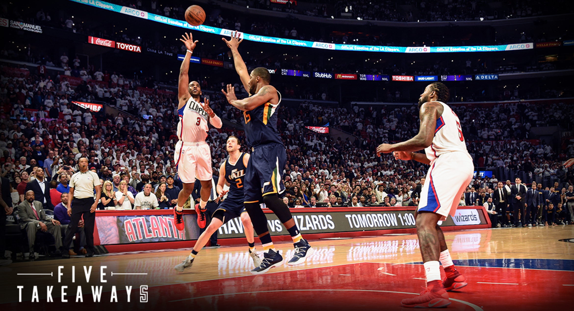 Five Takeaways From Clippers' Last-Second 97-95 Loss in Game 1 vs Jazz