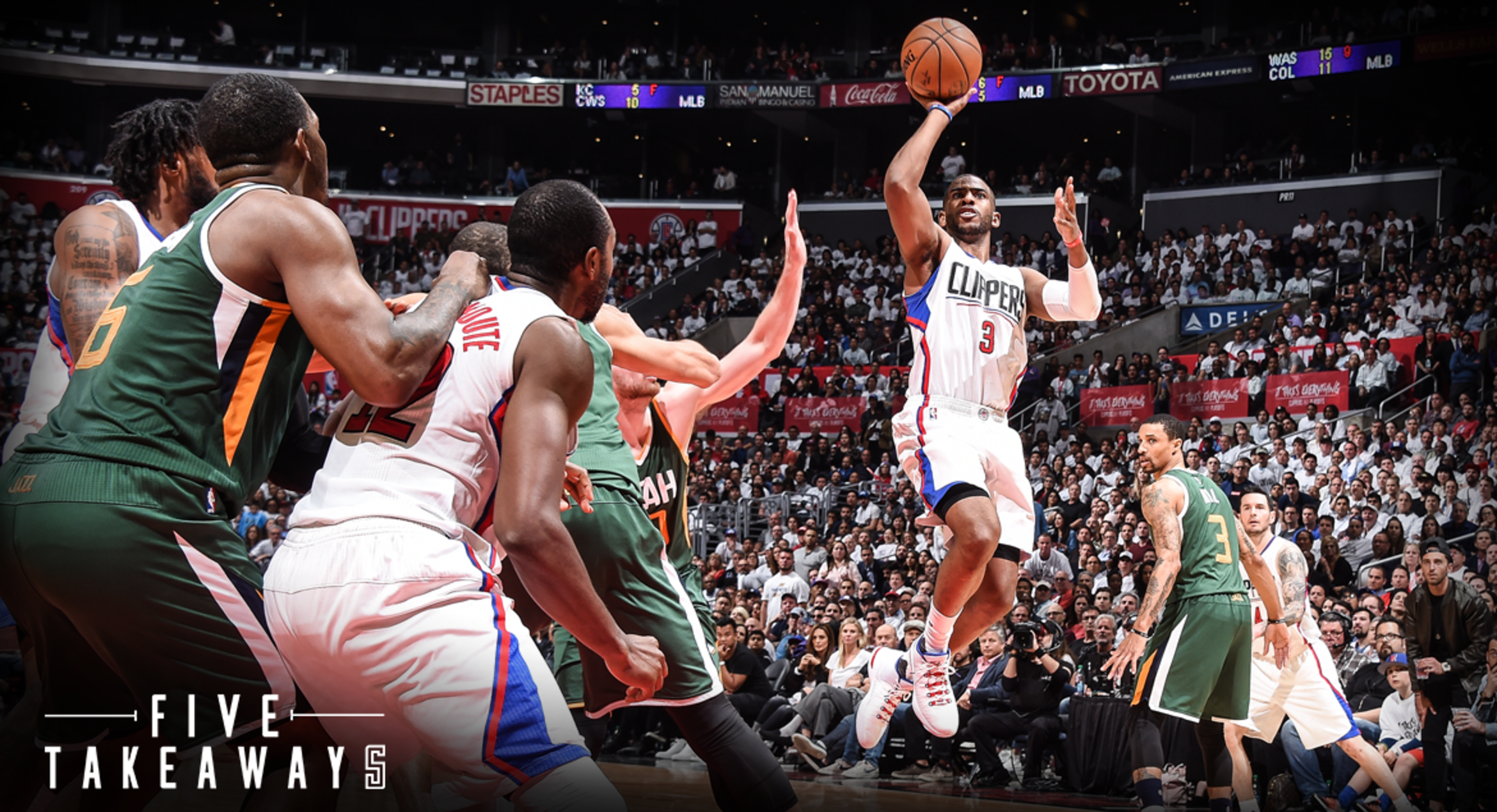 Five Takeaways: Clippers Fall Short in Narrow 96-92 Loss to the Jazz in Game 5