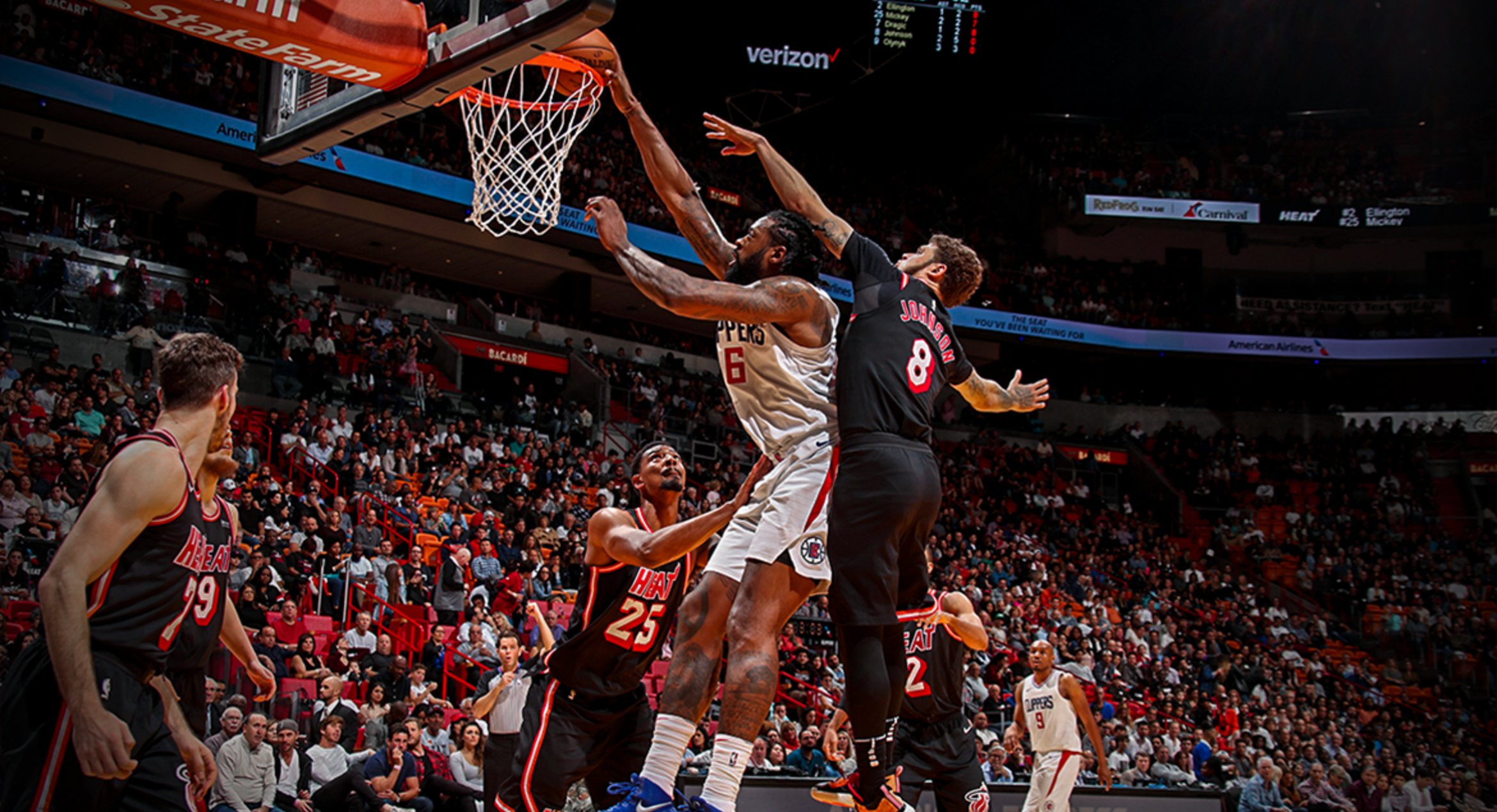 Heat Knock Off Clippers, 90-85