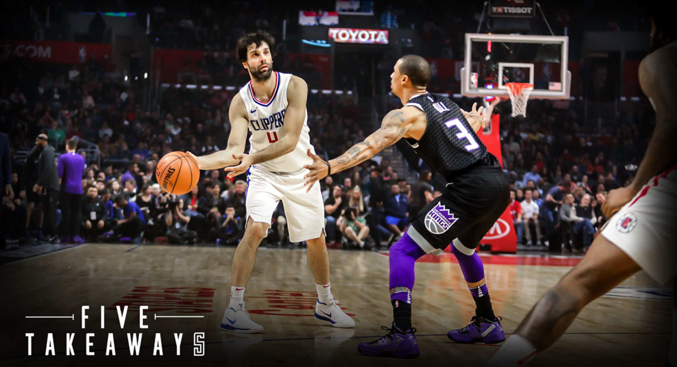 Five Takeaways: Clippers Post Season-High 31 Assists in win over Kings