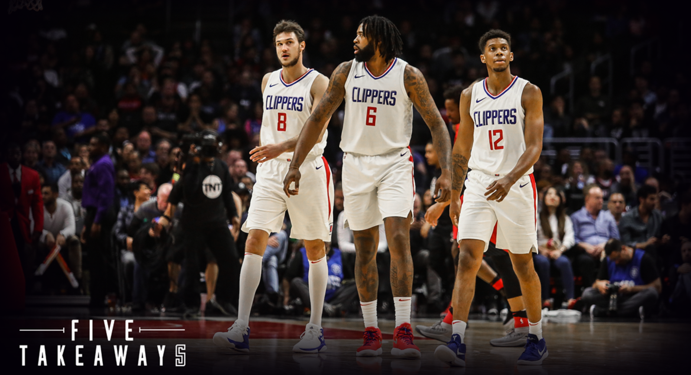 Five Takeaways: Clippers make a late run, but fall short in loss to Blazers