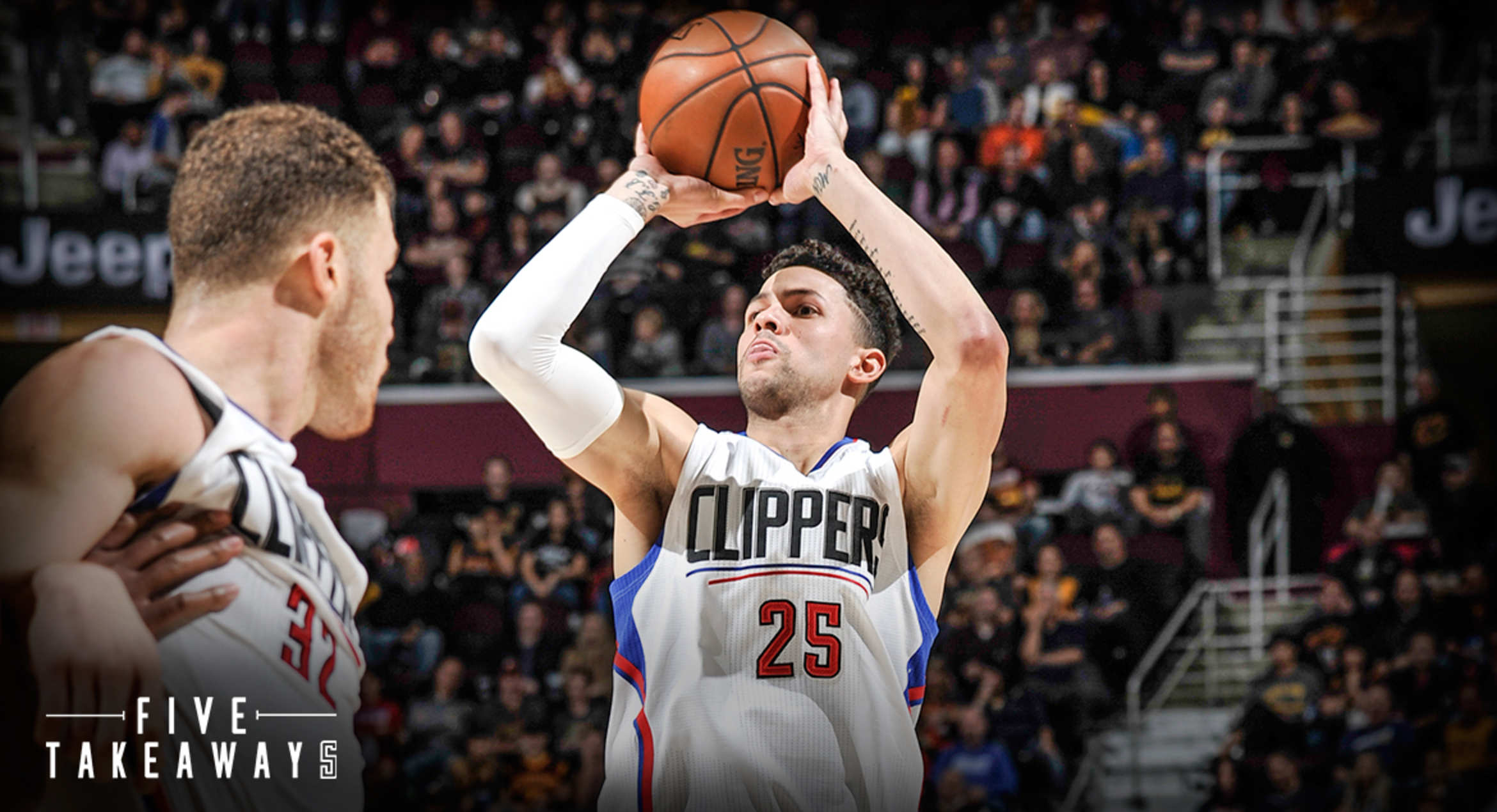 Five Takeaways: Clippers Destroy Cavaliers, 113-94, To Snap Losing Skid