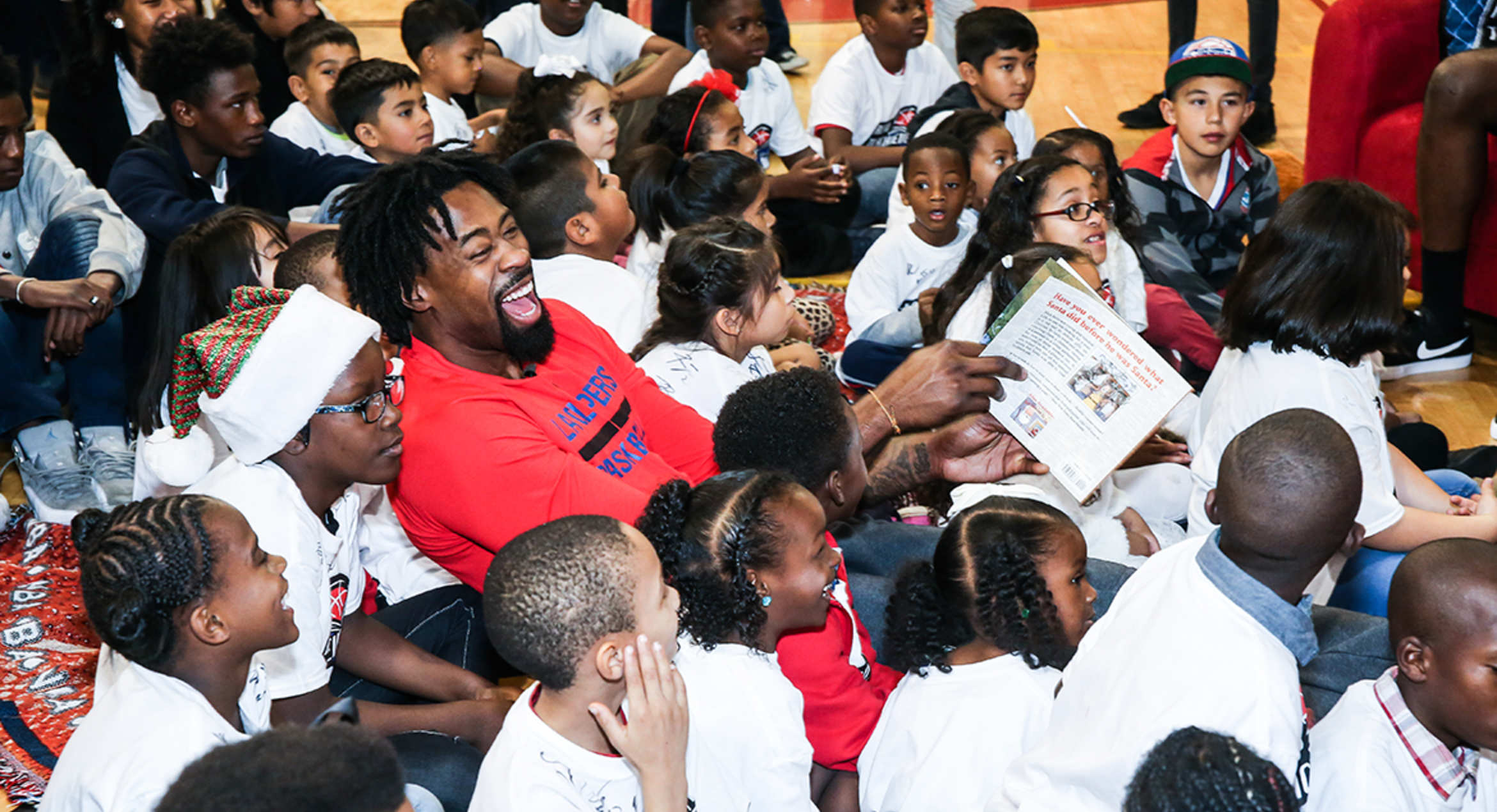 Busy December Hasn't Stopped Clippers From Making Time To Give Back
