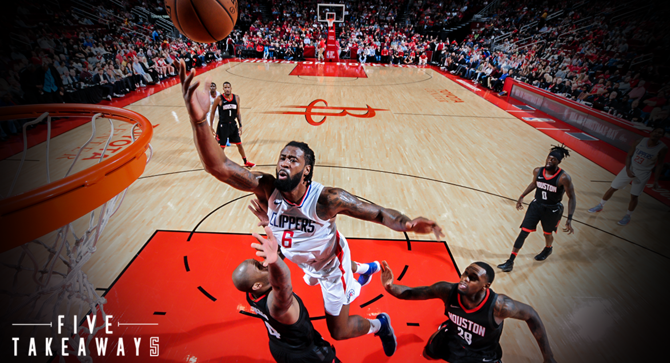 Five Takeaways: Strong second half pushes Clippers past Rockets