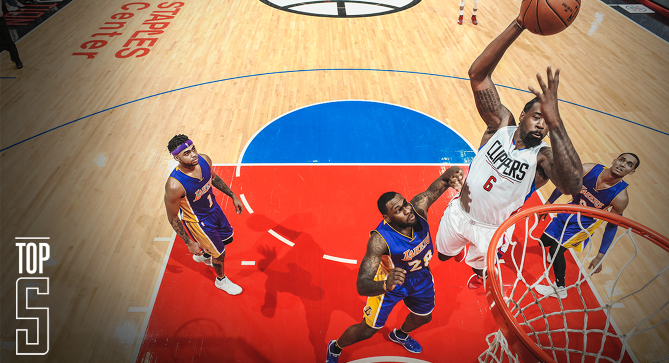 Image of DeAndre Jordan vs LAL