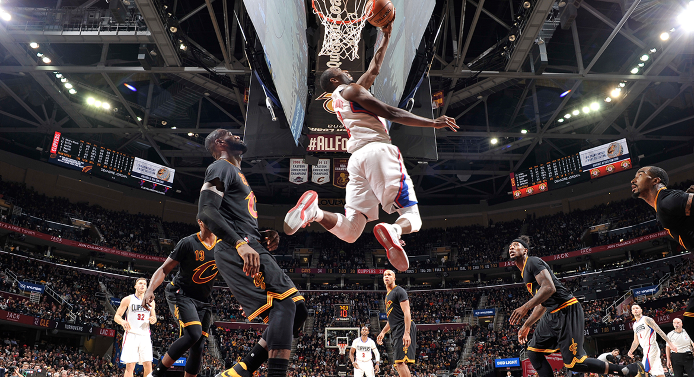 Image of Luc Mbah A Moute vs CLE
