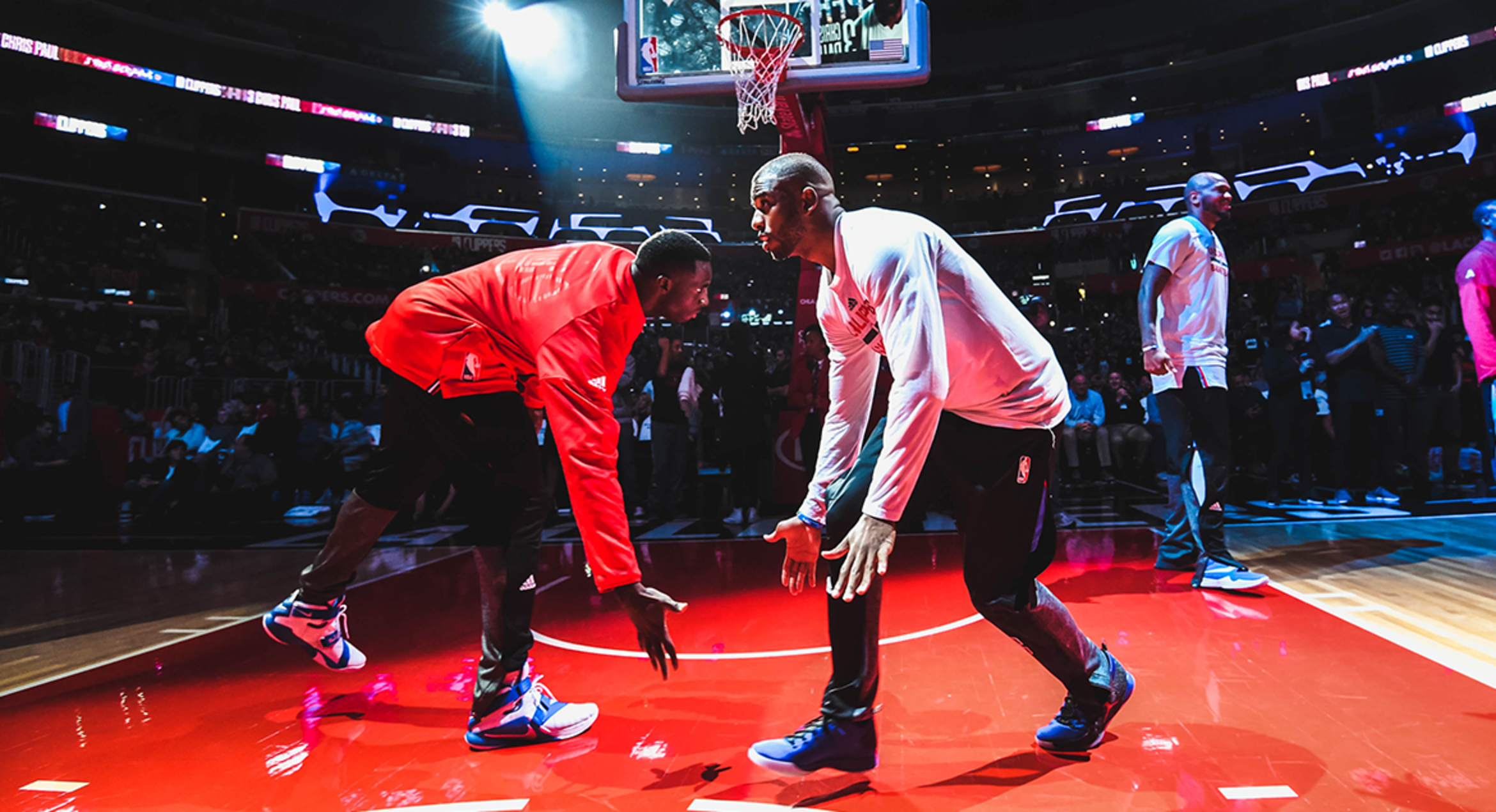 Image of Clippers Finally Get To Practice, With Focus On Defensive Slippage